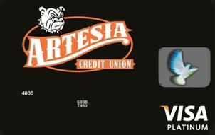 Artesia CU Visa Platinum Card